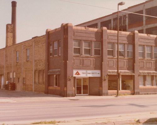 1980s Superior Street Fort Wayne Tec-Hackett