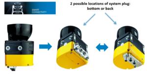 SICK microScan3 Pro Ethernet/IP Safety Laser Scanner - Tec